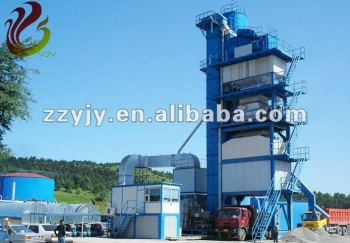 Stationery Asphalt Mixing Plant for batching asphalt road building