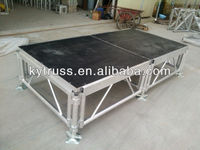 cheap movable folding aluminum stage props
