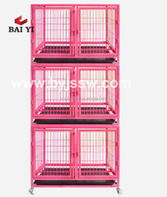 Heavy Duty Wire Dog Crate And Double Dog Cage / Two Tiers Dog Kennel For America (Chinese Manufacturer)