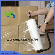 clear pallet packing film industrial grade LLDPE stretching film/plastic wrap