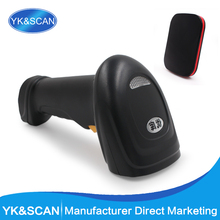 2016 long distance supermarket 1D ccd wireless barcode scanner 2.4G radio frequency wifi barcode scanner