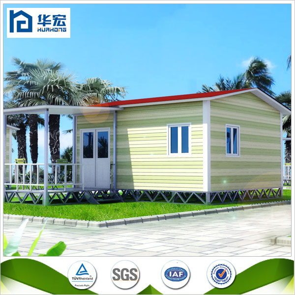 Durable and portbale low cost SIPS Light steel frame small villa design