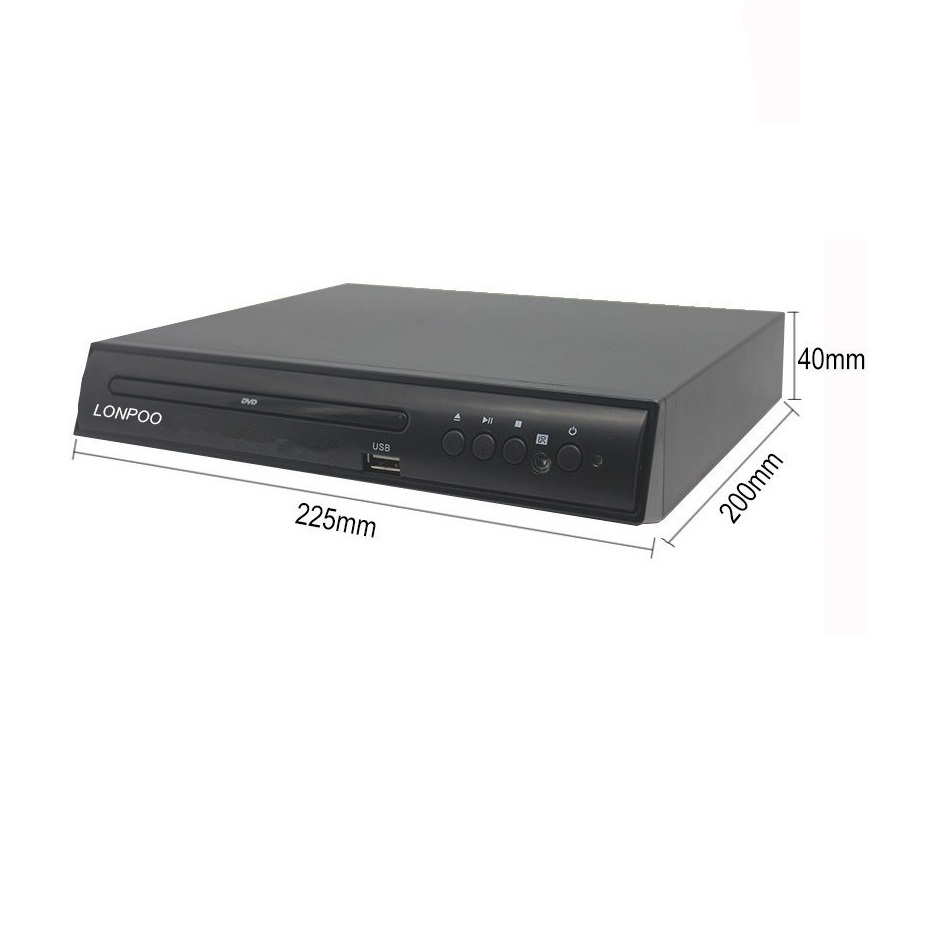 hot sale superior DVD player with screen