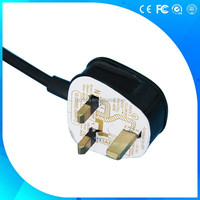 BS approval Y006 UK assembly detachable power cord, British plug