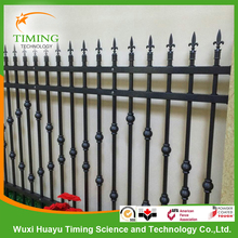 High quality easily assembled hot dipped galvanized steel fence panels