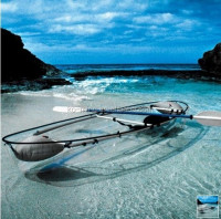 Manufacture PC Formed Transparent Kayak/ Clear boat