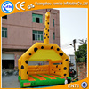 Funny giraffe super jungle combo inflatable bounce house, cartoon inflatable castle