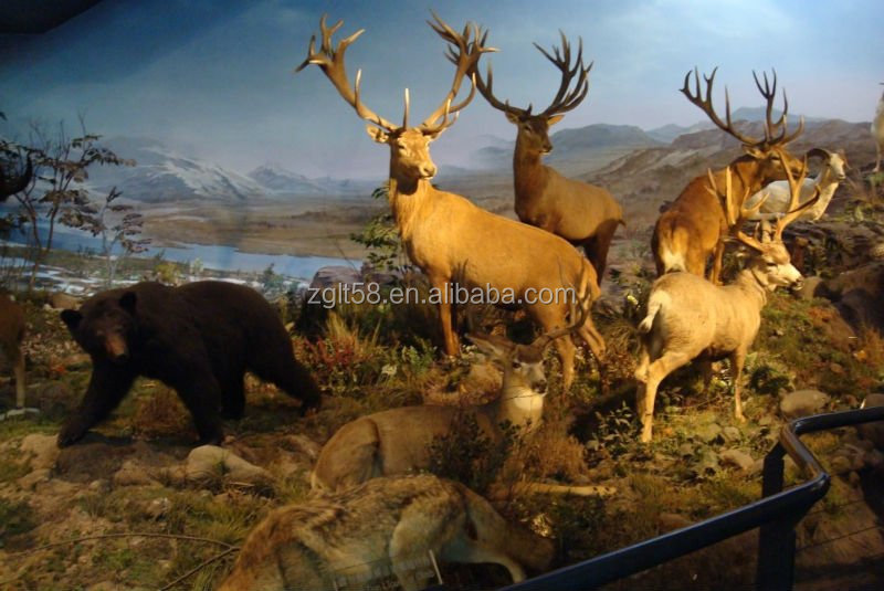 life size deer animal statues