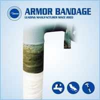 Pipe Repair Bandage Wrapping Tape for Oil Gas and Pluming