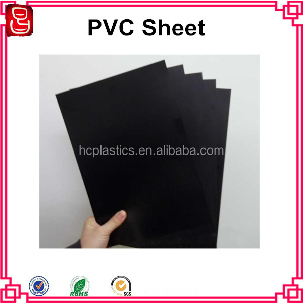 Matt PVC Sheet Black Matt PVC