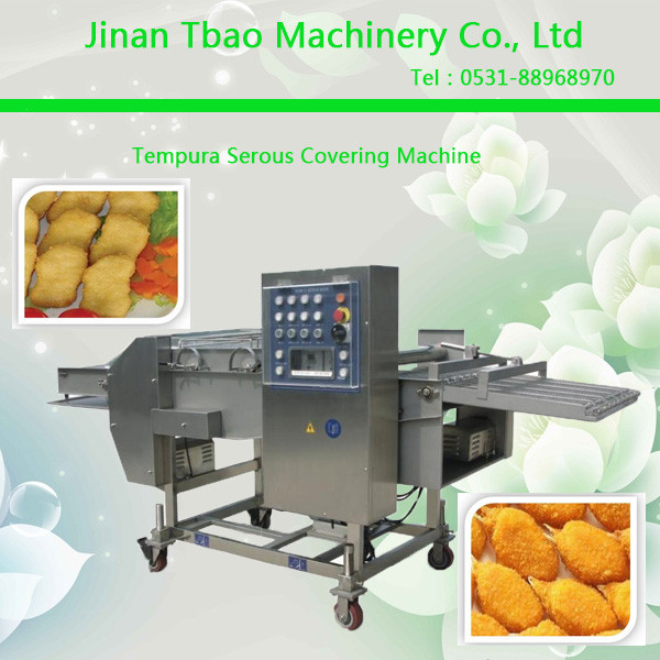 Automatic Fish Beef Chicken Pork Shrimp Meat Battering Machine
