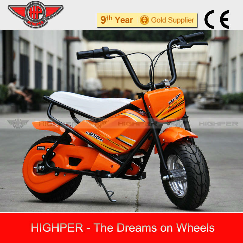 250W 24V Electric Mini Motorcycle For Child (HP108E-B)