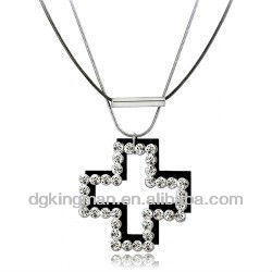Hotsale DongGuan Jewelry Cross Necklace New Gold Chain Design For Men