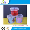 Heat transfer printing plastic bucket for food packing