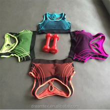 No Rims Professional Vest Type Sports Bra Running Yoga Quick-drying Female <strong>Underwear</strong>