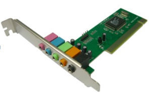 CMI8738 PCI 6CH sound card