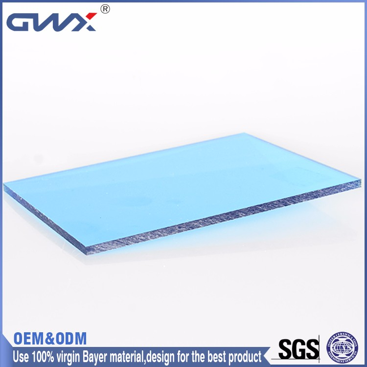 Excellent Weather Ability Solid Plastic PC Sheets Building Materials