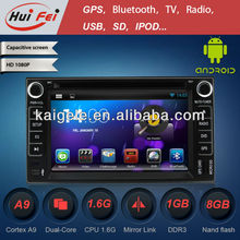 HuiFei Android DVD for Kia Forte with Mirror Link Capacitive Touch Screen support OBD2