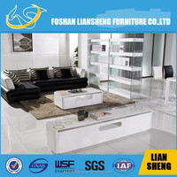 Modern led tv stand showcase salon furniture