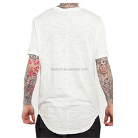 Fashion Men Extended T Shirt Longline