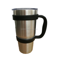 China factroy new Handle for 30 oz tumbler,plastic tumbler handle ,black handle fit for 30oz cup