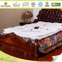 Duck feather and down combination mattress topper