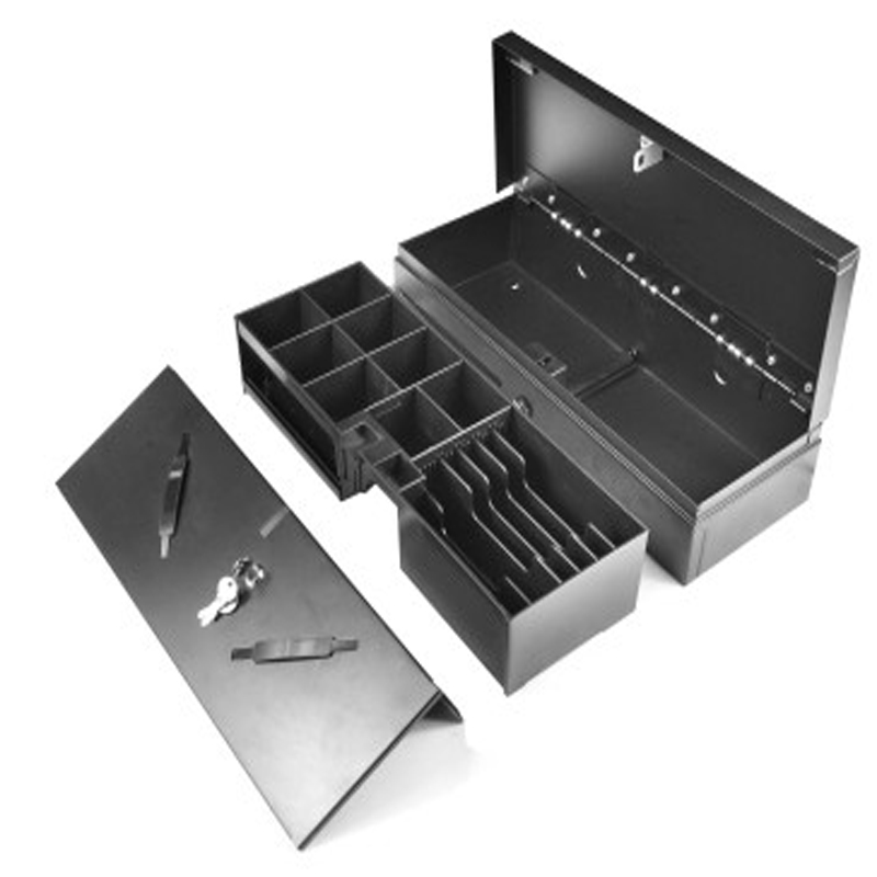 flip top cash drawer CR-17O with stainlessstell front plater / Cash Register Drawer For Pos Terminal