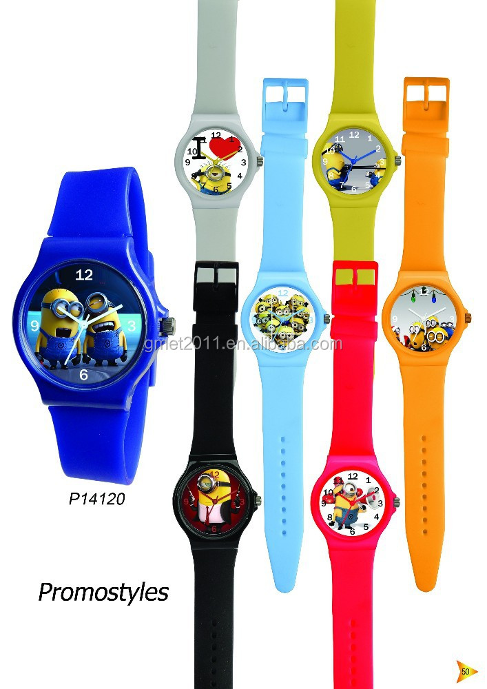 manufacture the cheapest customized Fashional silicone wrist watch