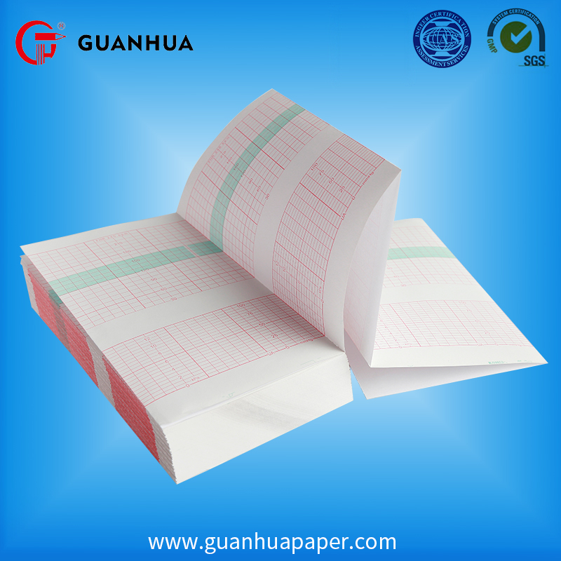 Manufacturer Supplier thermal printer paper size 4 inch medical Consumables recording CTG