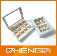 High Quality Customized Made-In-China Fashionable Cufflink Gift Box For Cufflink Packaging(ZDL13-C001)
