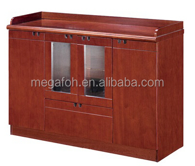 Alibaba express chinese wooden tea cabinet/office coffee cabinet furniture for wholesale(FOH-A03)