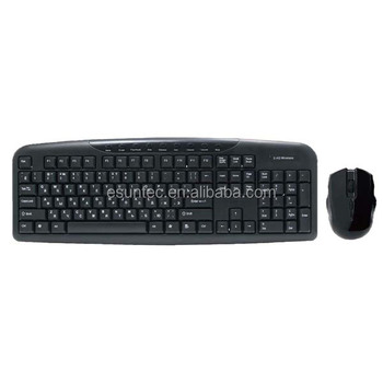 New product Wireless Type Wireless keyboard mouse combo, KMSW-300M