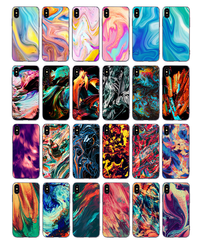 New 2018 Smartphone Accesories TPU PC Mobile Phone Shell 7 10 X Case for iPhone 7 10 X for iPhone X Case