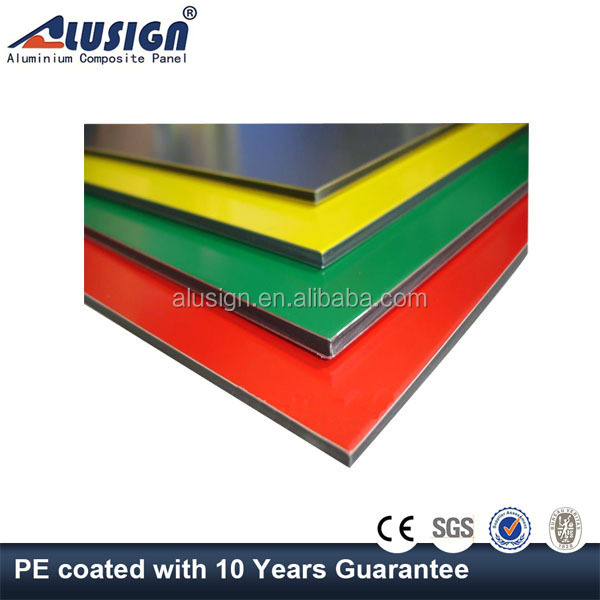 Alusign aluminium composite insulated cheap facade wall panel building manufacturer