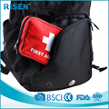 2017 Hot Sale Top Selling Trauma Bag First Aid Kit Emergency Surgical Kit For Work Place , Home , Travel,Car, Outdoor