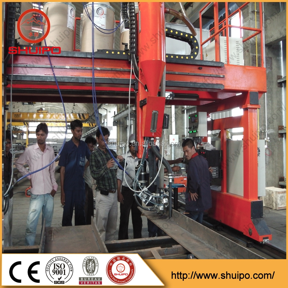 shuipo gantry automatic submerged arc welding/saw h beam welder