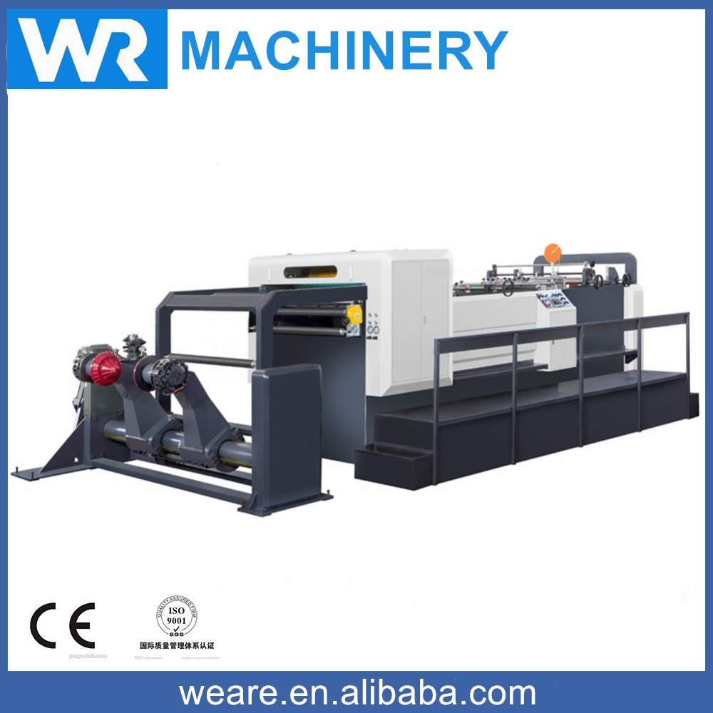 WRM-1400-1 Paper Jumbo Roll Sheeter