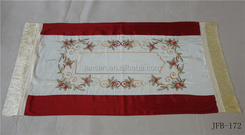 High - end practical embroidered Muslim prayer blanket