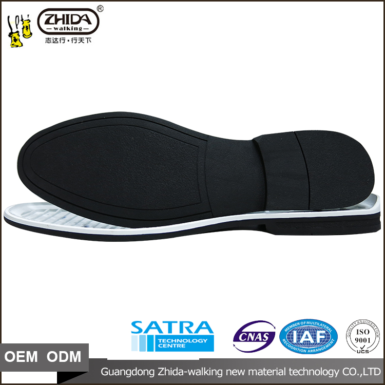 rubber wholesale shoe sole manufacturer with size 40-42 for casual shoes and sandal