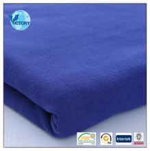 100% Organic Cotton Plain Fleece Fabric for Baby Clothing