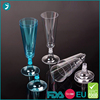 new invention 2016 different color Party champagne flutes with low price
