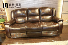 Modern new design used leather sofa