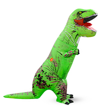 High Quality Wholesale Halloween Carnival Party Inflatable T-rex Dinosaur Oktoberfest Costume lyjenny Suit For Adult and Child