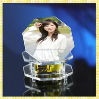 Personalized Printing Crystal Music Box Souvenirs For Wedding Party Gifts