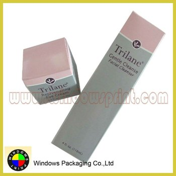 Personal Logo Printed Cosmetic Packaging Box,cleanser/mask/under eye box
