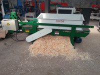 SHBH500-6 automatic wood shaving mill machine/sawdust for horse bedding