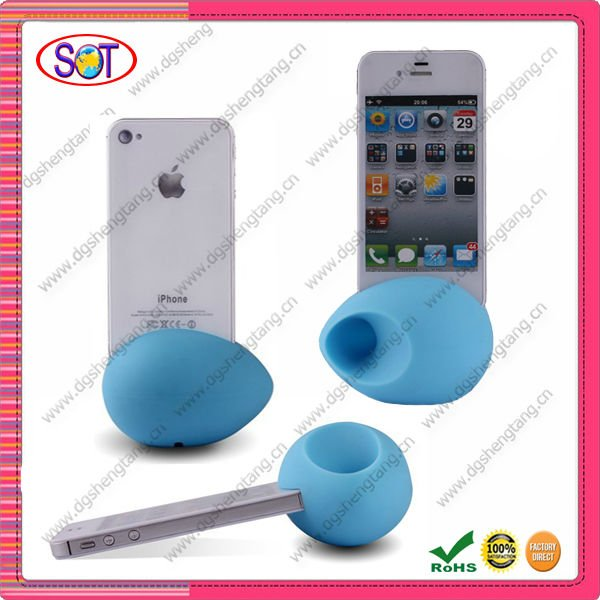 China Supplier Hottest silicone egg wireless speaker for Iphone
