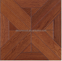Wholesale stained oak solid wood traditional flooring parquet