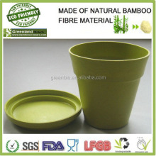 garden Biodegradable pots supplies natural eco bamboo fibre bio friendly flower pot
