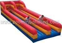 Durable double Lane Inflatable Bungee Runs for sale Z5026